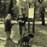 První tabule - Ekostezka Lesná