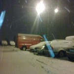Po dlouhé době napadl sníh