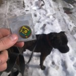 Staffy a geocoin 10