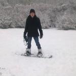 Já poprvé na snowboardu