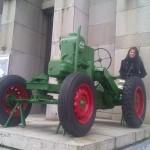 Klára u zemědělského muzea v Praze