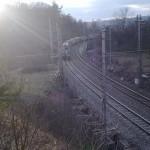 Vlak v Obřanech, tunel