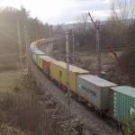 Vlak v Obřanech, Brno