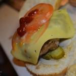 Luxusní hamburger