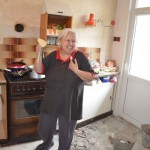 Babička v kuchyni :)