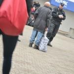 Bezdomovec a policie Brno