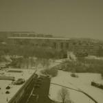 Masarova - pohled z okna