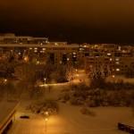 Líšeň v noci