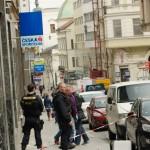 Policejní zásah na Panské v Brně