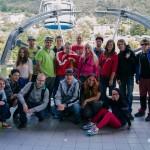 Společná fotka pod Monte Baldo
