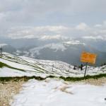 Na hoře Monte Baldo, Italy