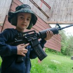 David a útočná puška M4