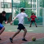 Fotbal na Vejrostove v Bystrci