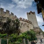 Hrad v Malcesine (Itálie)
