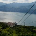 Lanovkou do Malcesine, Italy