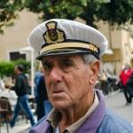 Kapitán v přístavu Malcesine