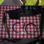 Rozbitý Nikon D5100