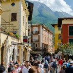 Přístav v italském městě Malcesine, Lago di Garda