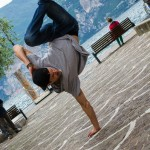 Break dance v Malcesine