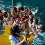 Natáčení videoklipu na lodi