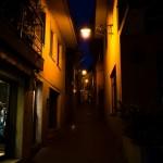 Noční ulička Malcesine
