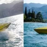 Na člunu na Lago di Garda