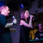 Petr Kutheil a Eliška Bučková křest Rock Fusion v Hard Rock Café