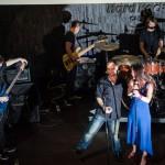 Petr Kutheil a Kristýna Leichtová křest Rock Fusion v Hard Rock Café