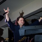 Felix Slováček křest Rock Fusion v Hard Rock Café