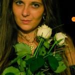 Klára s kytičkou