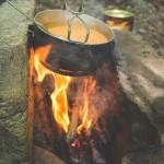 Oběd na ohni
