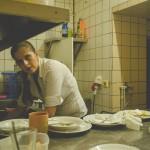 Klára v kuchyni
