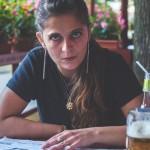 Klára na pivu