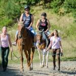 Projížďka na koni v Areálu Barochov