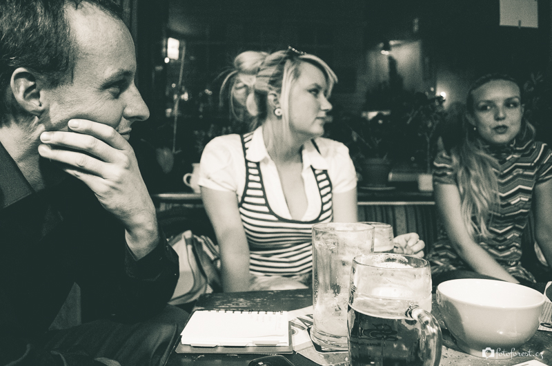 Týmová schůzka v café Fantazie