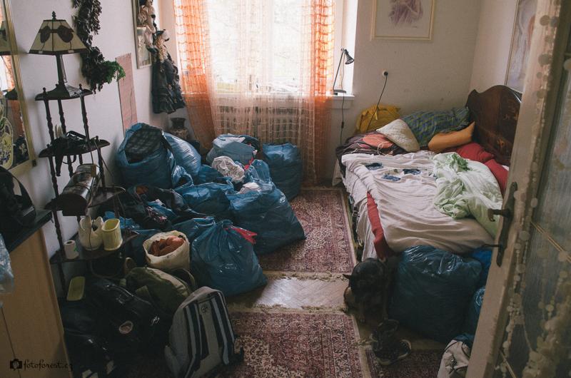 Ložnice po stěhování