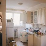 Nepořádek v nové kuchyni