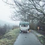 Karavan bezdomovce v Řečkovicích