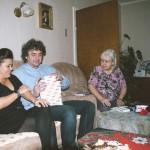 Rozbalujeme dárky u babičky