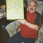 Děda s dárkem