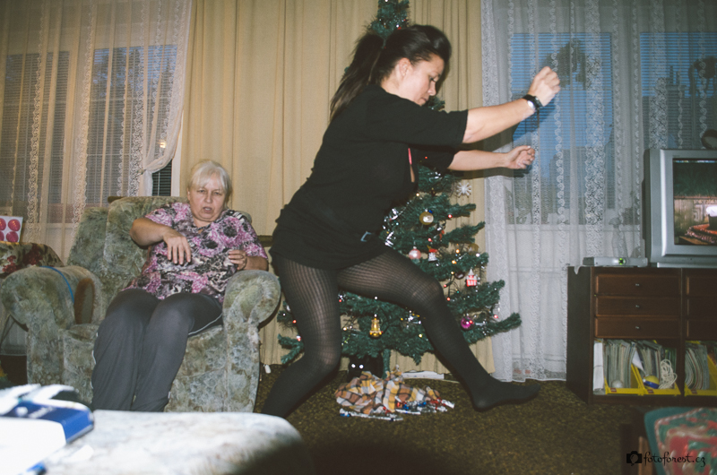 Mamka skáče jak srna