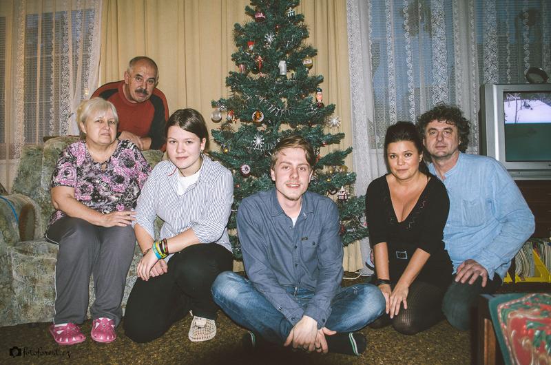 Moje rodina u stromečku