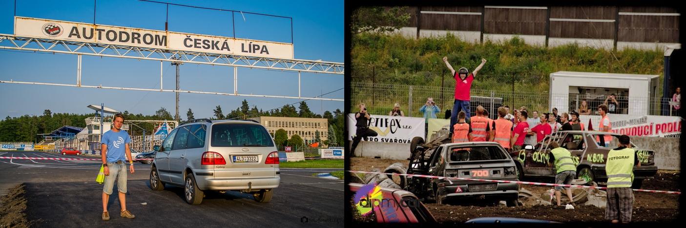Focení Monster Destruction Derby IV | Autodrom Sosnová | 4.7.-7.7.2013