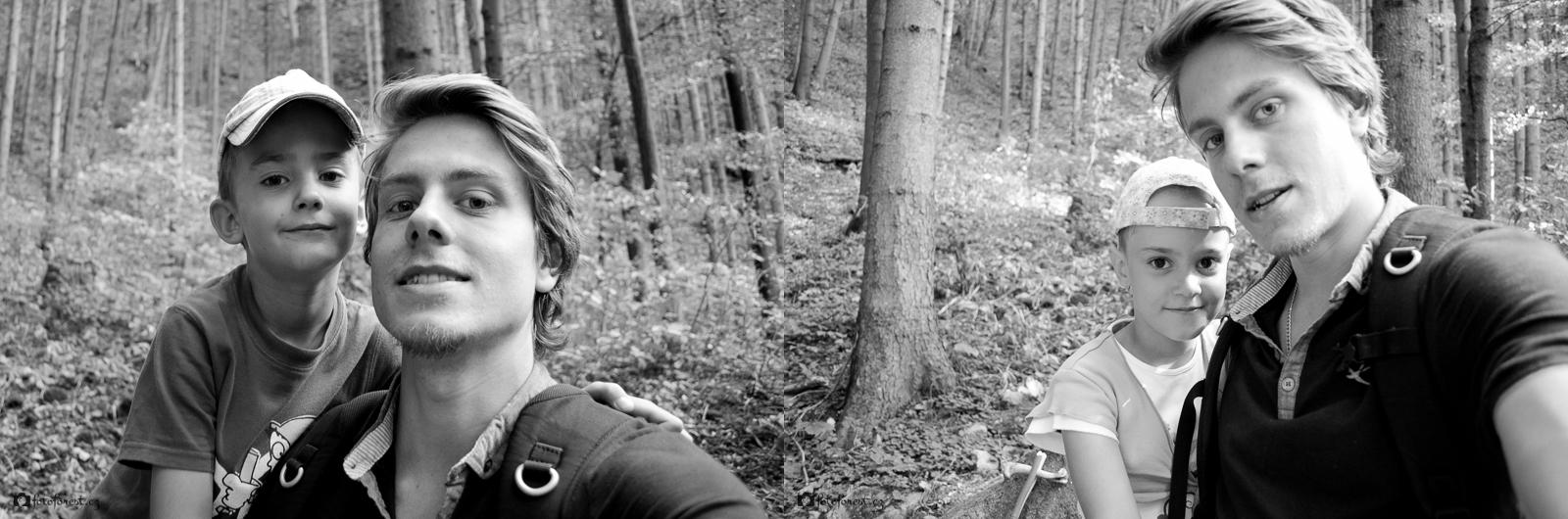 S bráchou a ségrou v Borači | Borač | 10.8.2013