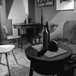 Interiér ve vinárně Poslední kapka v Brně na Pionýrské