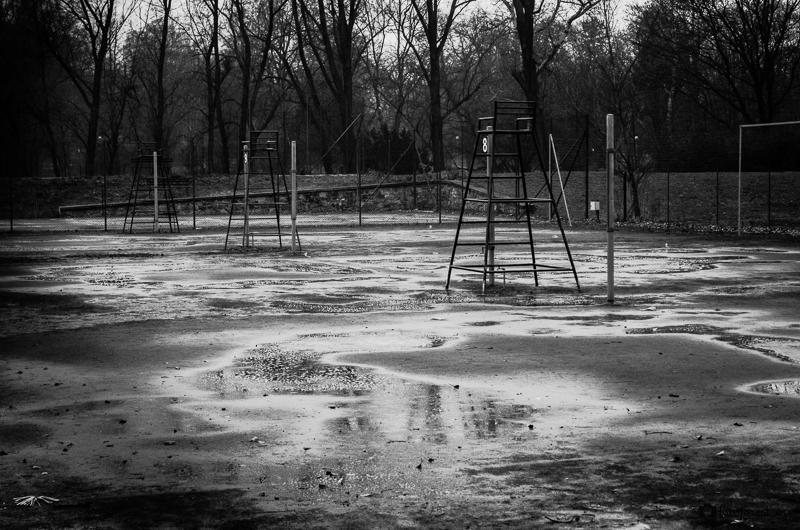 Tenisové hřiště v Lužánkách