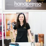 Michala a Handpresso na veletrhu SALIMA 2014