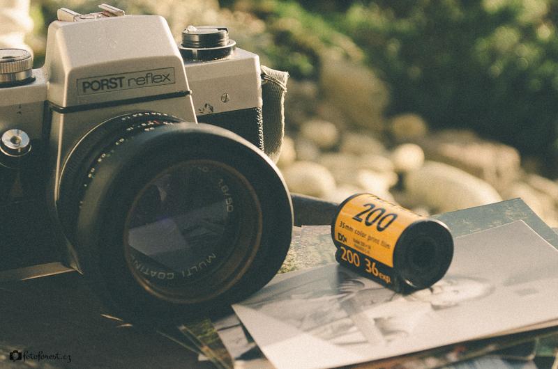 Fotoaparát zátiší
