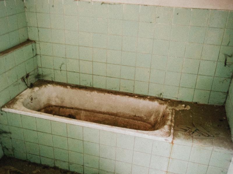 Koupelna s vanou v zámku
