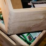 Dřevěná bedýnka z Hornbachu